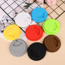 Cover-Cap Cup-Lid Mug Coffee Silicone Tea 1pcs Kitchen-Tool Sealing-Dust-Proof Colourful