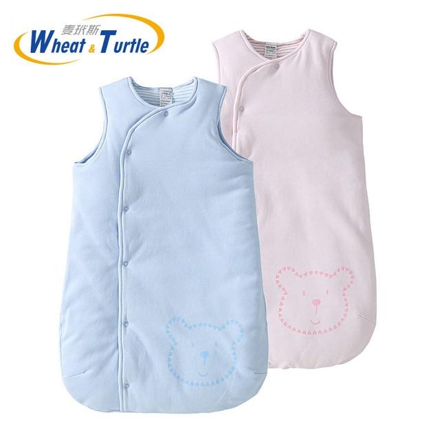 Anne çocuk yatağı bebek uyku tulumu çanta yenidoğan bebek uyku tulumu kış kalın bebek Sleepsacks sıcak Saco De Dormir Infantil