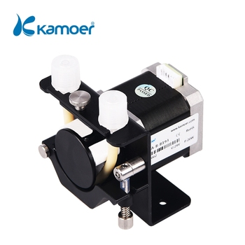 Kamoer KCS mini peristaltic pump stepper motor 12V/24V electric water pump(Silicone tube,BPT tube) kamoer peristaltic pump tube pharmed bpt tube pipe from saint gobain food grade anti corrosion various size