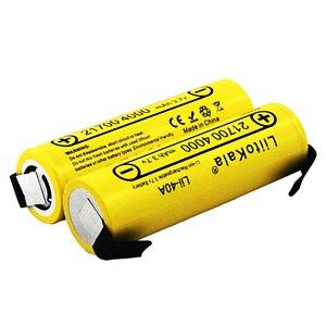 Image 5 - Nieuwe Liitokala Lii 40A N 21700 4000 Mah Li Ni Batterij 3.7V 40A 3.7V 30A Power 5C Tarief Ontlading