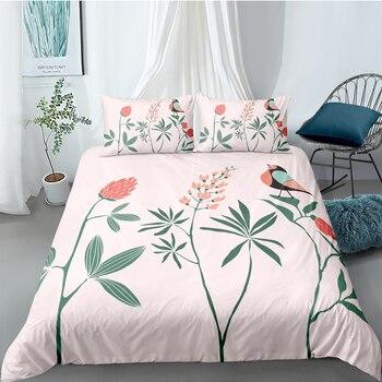 Cartoon Bedding Set For Girls Elegant Fresh Beautiful Duvet Cover Pink King Queen Twin Full Single Double Unique Design Bed Set