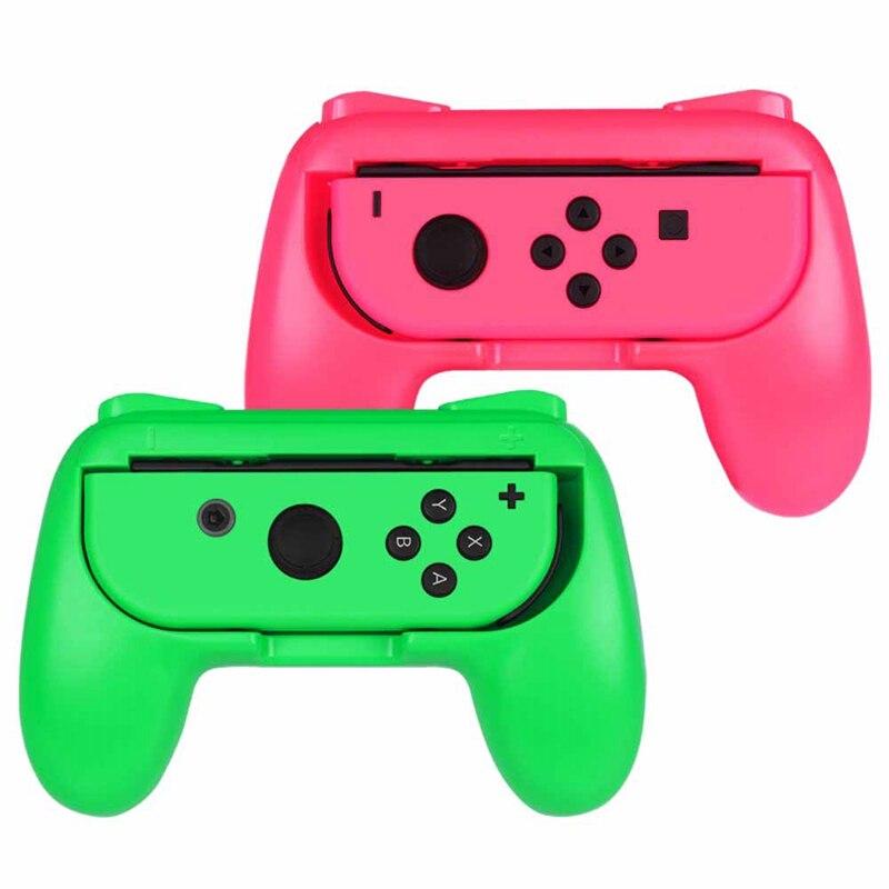 Uchwyt do przełącznika Nintendo Joy-Con, [ergonomiczny kształt] odporny na zużycie komfortowy kontroler do gier zestaw uchwytów do przełącznika Nintendo Joy C