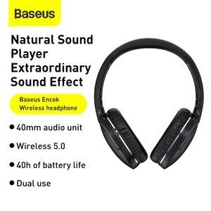Image 2 - Baseus D02 Pro Wireless Headphones Bluetooth Earphones Flexible Adjustable Sport Headset Ear Buds Head Phone Earbuds for iphone