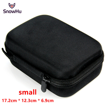 SnowHu עבור Gopro אביזרי קטן אחסון מצלמה תיק כיסוי תיבת מגן מקרה עבור ללכת פרו גיבור 9 8 7 6 עבור Sj4000 שקיות תיבת GP83