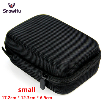 SnowHu for Gopro Accessories Small Storage Camera Bag Cover Box Protective Case For Go pro Hero 8 7 6 5 for Sj4000 Bags Box GP83 high quality waterproof housing case for gopro hero 5 6 action camera hero 5 6 black edition
