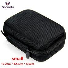 SnowHu pour Gopro accessoires petit rangement caméra sac housse boîte étui de protection pour Go pro Hero 9 8 7 6 pour Sj4000 sacs boîte GP83