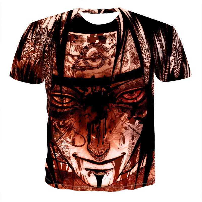 2020 New Men T Shirt Japan Anime Men Tshirt 3D Printed Summer O-Neck Daily Casual Funny 3D T Shirt Tees