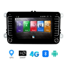 Navigation Radio Android Multimedia-Player Gps Bluetooth Volkswagen WIFI for 2-Din Stereo-Receiver