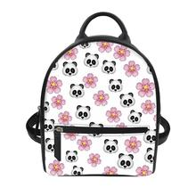 Cartoon panda women bag large capacity backpacks women backpack school bag for teenage girls light ladies travel backpack