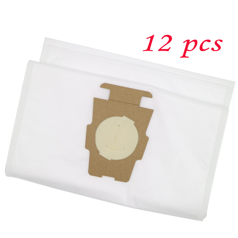 12pcs Dust Bag Vacuum Cleaner Part For Kirby Sentria 204808/204811 Universal F/T Series G10,G10E, Dust Bags For KIRBY Sentrial