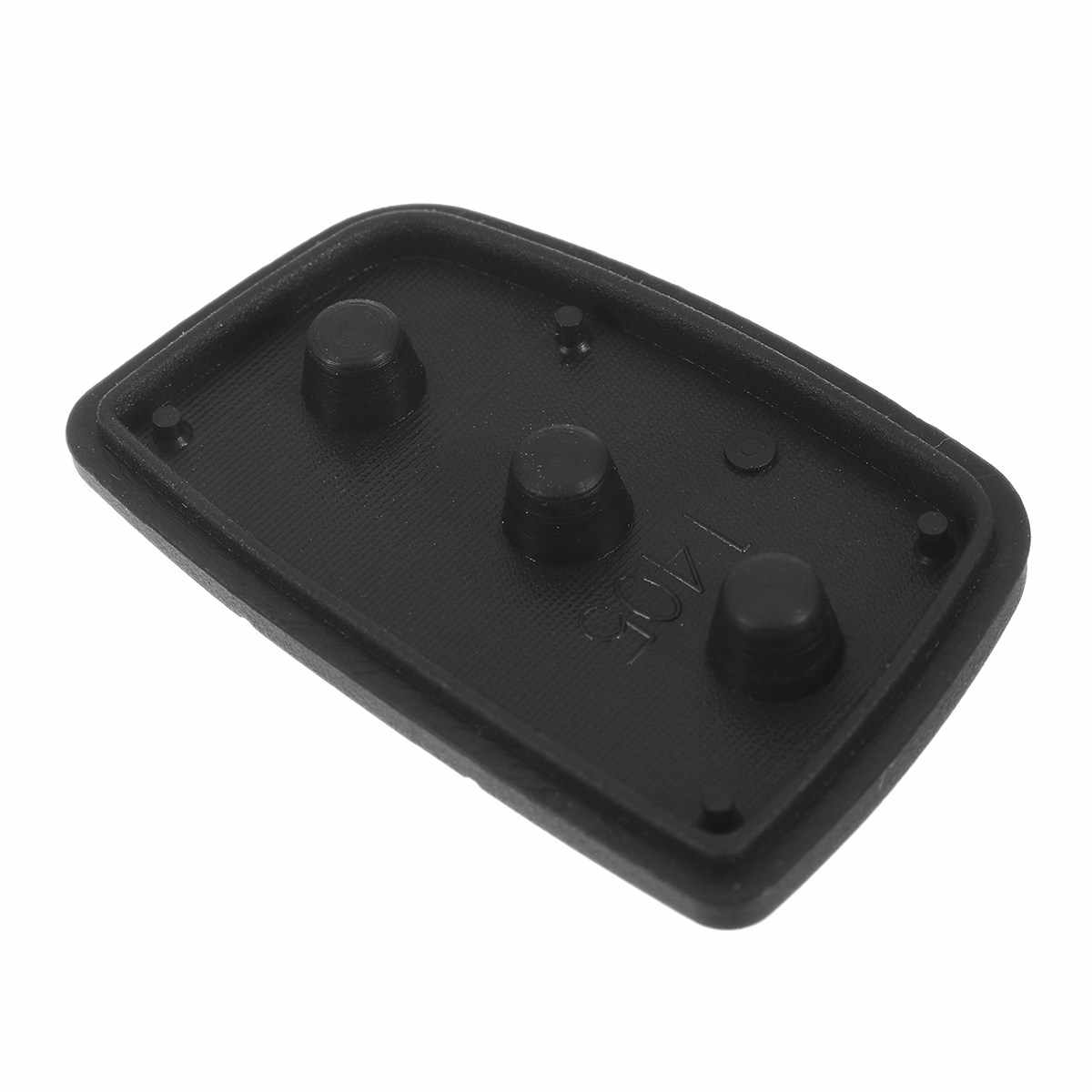 5pcs 3 Knoppen 4 Knoppen Auto Afstandsbediening Sleutel Cover Shell Rubber Key Pad voor Hyundai HB20 Ix35/ ix45 Santa Fe 2013-2014