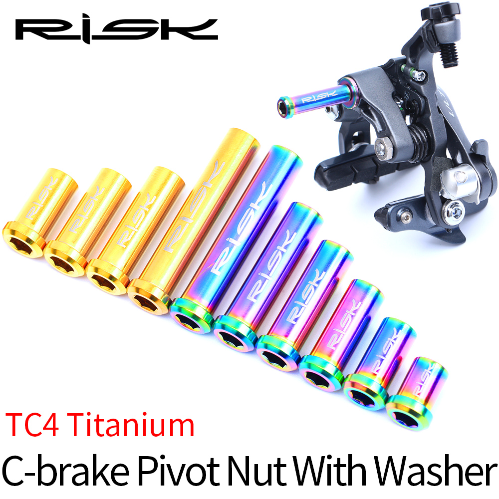 TC4 Titanium Blot Front /& Rear Caliper Brake Ti Bolt Screw Set for Brompton Bike