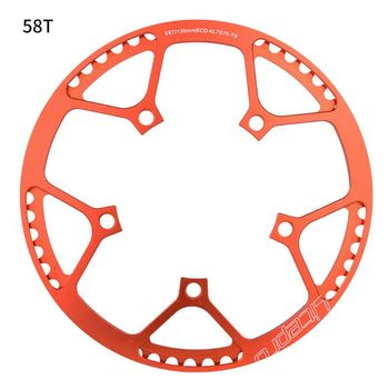 Ultralight 130 BCD BMX Chainring Folding Bicycle Chainwheel Bike Crankset Tooth image
