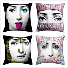 zara*women Dropshipping Pillow case Fornasetti Series for Art Bedroom A Living Room Home Hall Decorative Cushion Pillow Cover лонгслив printio псидак
