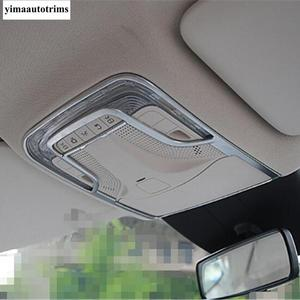 Image 4 - Matte Accessories For Mercedes Benz Vito W447 2014   2019 Car Inner Front Roof Reading Lights Lamps Panel Cover Trim Interior