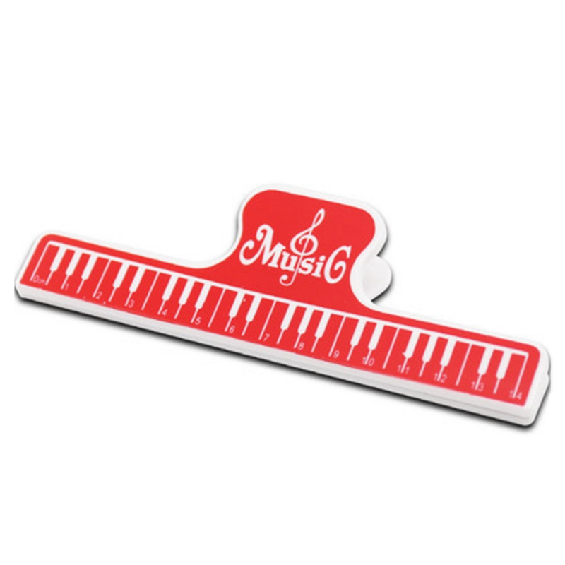 1PC Musical Book Note Clips ABS Piano Music Books Page Clip Treble Clef Clip Music Accessories Guitar Parts