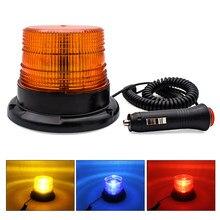 SUHU Strobe Notfall Lampe mit Magnetische Montiert Polizei Lichter DC 12V-80V 12W Lkw Warnung Licht auto LED Strobe Blinklicht