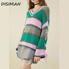 new fall plus size sweater women luxury clothes winter clothes pullover korean knitted fuzzy rainbow sweater women streetwear fuzzy cropped sweater