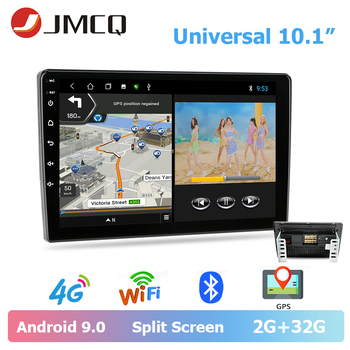 "JMCQ Car Radio 2 din Android 9.0 T3L 4G Universal player GPS Navigaion 7/10.1""Multimedia Video Player for Ford Focus 2 passat B6"