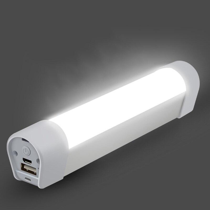 Emergency Lighting Night Light Portable Flashlight Multi-function Power Bank Camping Lamp 20Leds