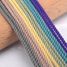 OAR 1-3mm Silk thread milan Braided cord 49 colors DIY Jewelry Accessories Twine Beading Threads HandCrafts rope