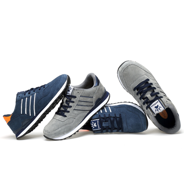 artificial Leather Men Causal Shoes Male Spring Men Casual Light Shoes Sneakers Lac-up Flats Breathable Outdoors Sapato Shoes