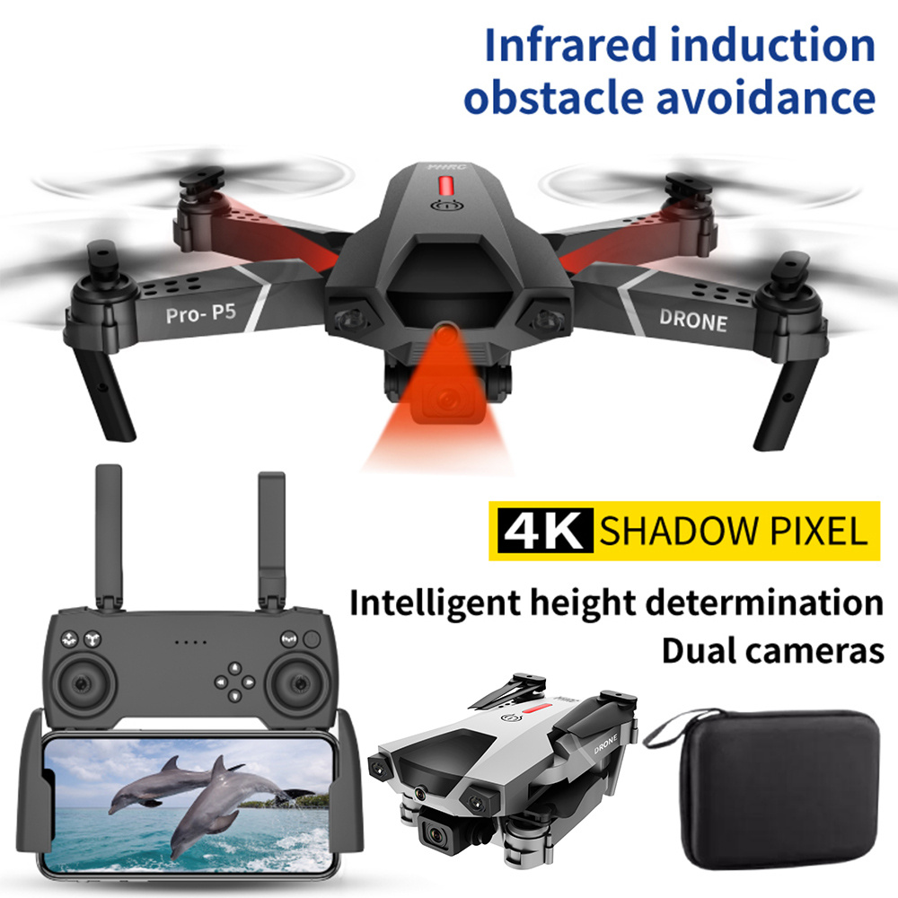 New Drone 4K with Camera Aerial Photograph Drones RC Foldable Quadcopter Professional FPV WIFI Helicopter Toys for Boys