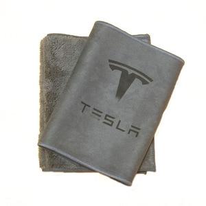Image 4 - Uds Tesla modelo 3 X S X Y toalla para limpieza de coche fuerte capacidad de absorción de agua paño de limpieza
