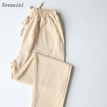New 2020 Spring summer women plus size pants capris fashion slim capris high waist pants casual pants women Candy Colors Pants фото