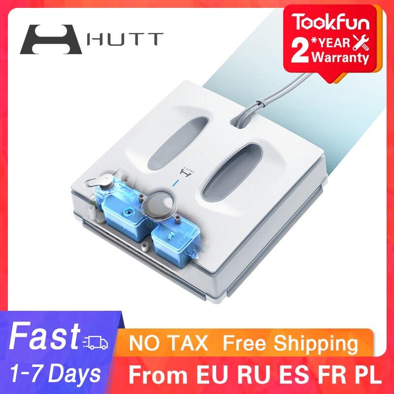 새로운 HUTT W66 전기 창 클리너 로봇 홈 자동 창 청소 세탁기 진공 청소기 빠른 안전 스마트 계획|전기 창문 청소기| - AliExpress