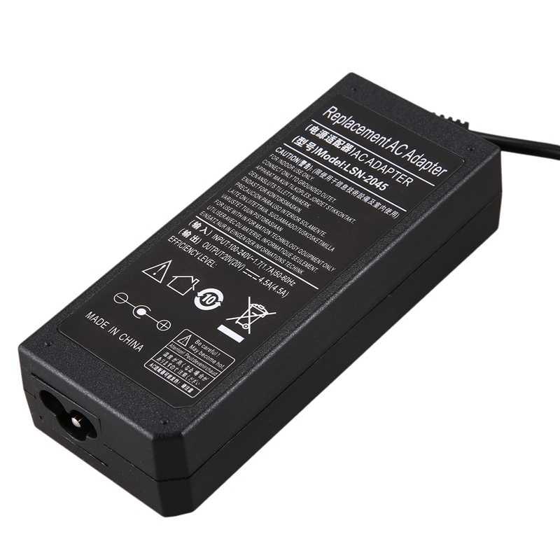 20V 4.5A AC adaptador de fuente de alimentación cargador de ordenador portátil para Lenovo G405S G500 G500S G505 G505S G510 G700 Thinkpad ADLX90NCC3A
