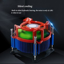 Computer CPU Fan PC Radiator Mute Silent Air Cooling Quite Cooler high quality quiet radiator 7cm 70mm 70x70x15mm 12v computer pc cpu silent cooling case fan nov29