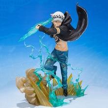 14cm One Piece Trafalgar Law Action Figure Anime Trafalgar D Water Law Gamma Knife Fight collezione PVC modello bambole giocattolo per regalo