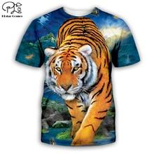 Tiger/wolf/lion/cat/dog/pig/cow series t shirt men women 3D print animal sweatshirt harajuku style suit tops 7XL AN-001