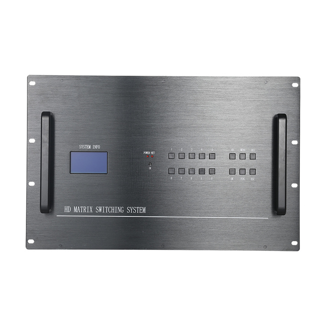 FOLAIDA 32 trong 16 out HDMI Matrix switch rs232 32x16 hỗ trợ phổ EDID 8U splitter HDMI matrix 06