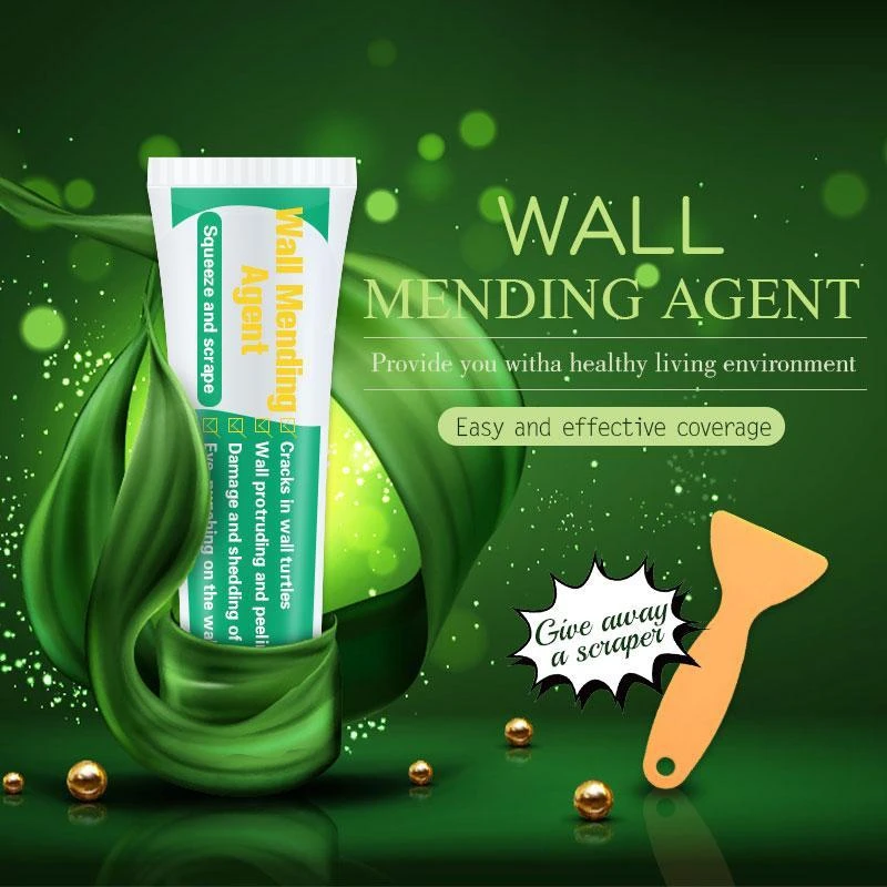 Wall Mending Agent 50ml Wall Mending Agent Wall Repair Cream Latex Paint Waterproof Gypsum Wall Paint Valid Mouldproof