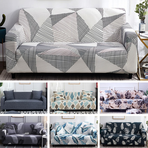 Image 2 - Printed Cheap Sofa Cover Stretch Couch Covers Bench Cover Love seat Sofa Bed Cover Anti pets Funiture All Warp Sofa Towel