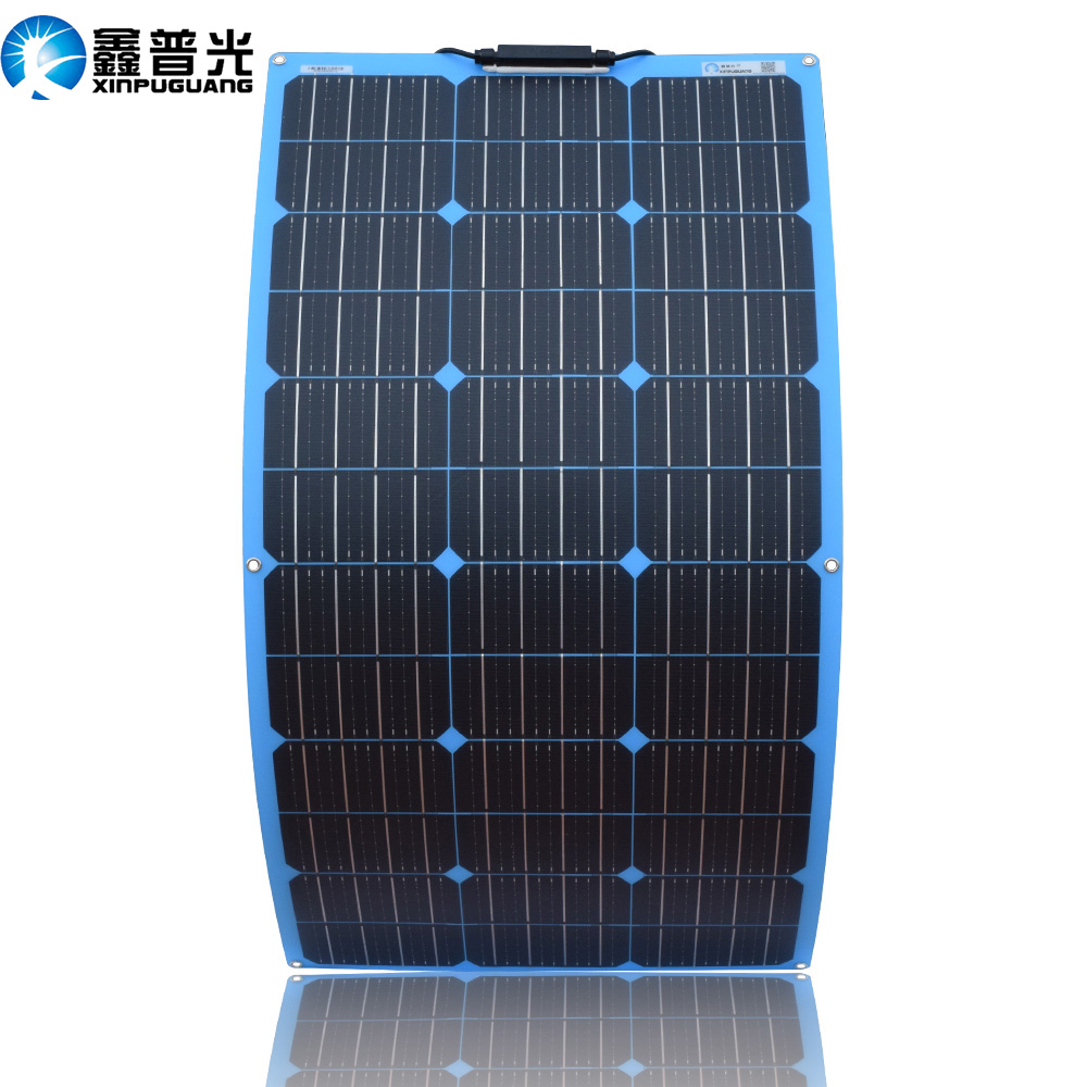 XINPUGUANG 18V 100W <font><b>Solar</b></font> <font><b>Panel</b></font> Flexible Pate cell <font><b>100</b></font> <font><b>watt</b></font> 200W 300W 500W 800w 1000w 12v 24v 36v 48v china image