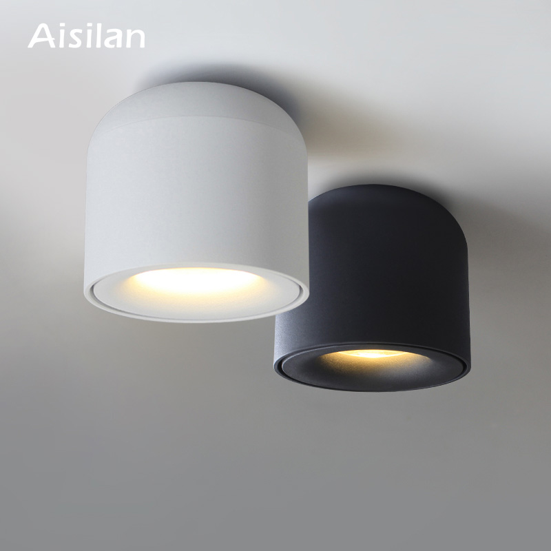 Aisilan Surface Mounted LED Ceiling Light  Spot light  for Living room, Bedroom, Kitchen,  Corridor Ceiling Lamp AC 90v 260v|Ceiling Lights|   - AliExpress