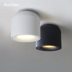 Aisilan-Spot lumineux de plafond, éclairage de plafond, montage en Surface, idéal pour le salon, la chambre à coucher, la cuisine ou le couloir, AC 90/LED v, 260v