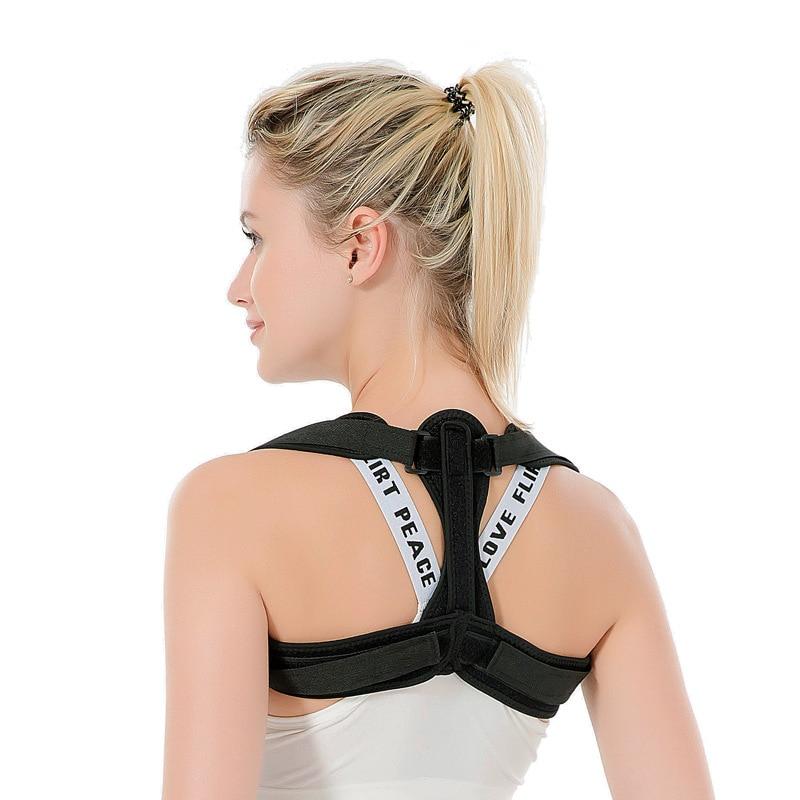 Style Orthopedic Suspender Strap Sitting Back Brace Back Correction Band Correct Spine Fixing Band
