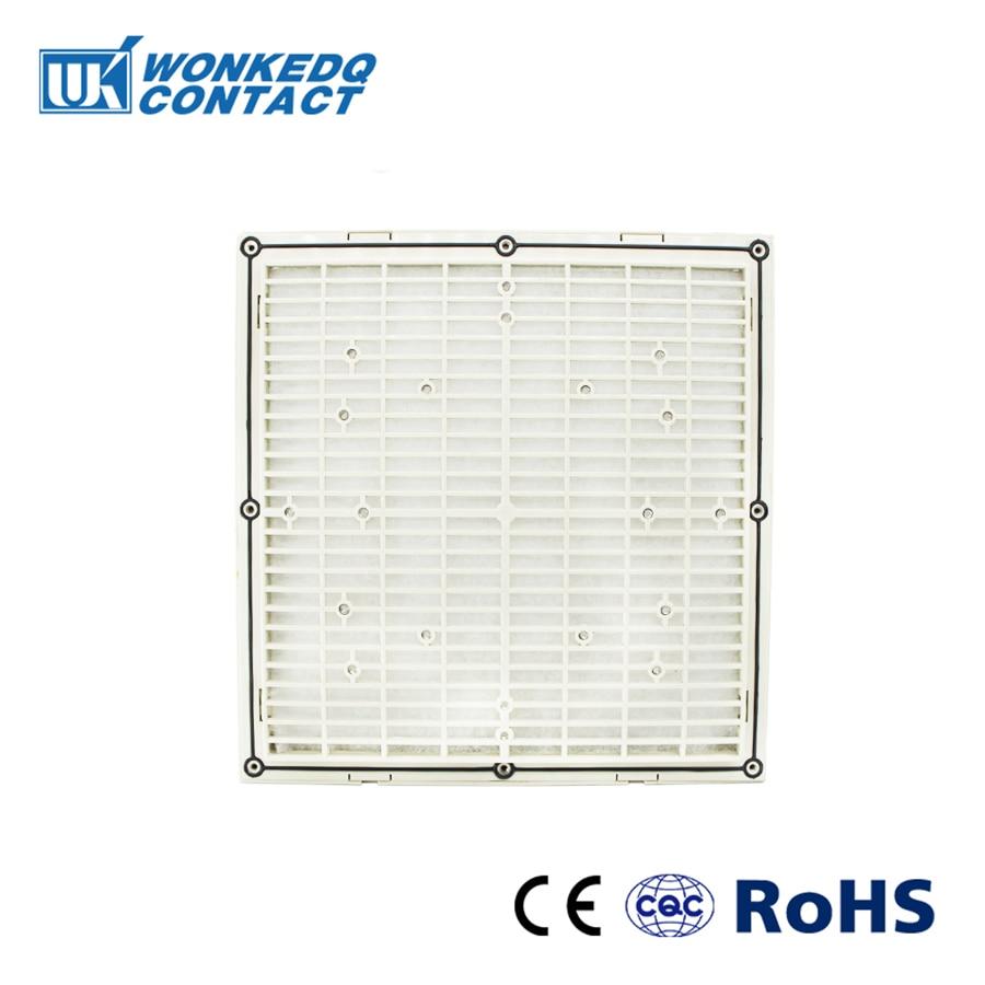 Cabinet  Ventilation Filter Set Shutters Cover  Fan Waterproof Grille Louvers Blower Exhaust FK-9806-300 Filter Without Fan