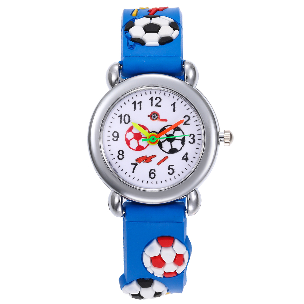 Fashion Silicone Strap Children Watches Football Kids Watches Boys And Girl Student Quality Wristwatches Hot Cool Gifts Relojes
