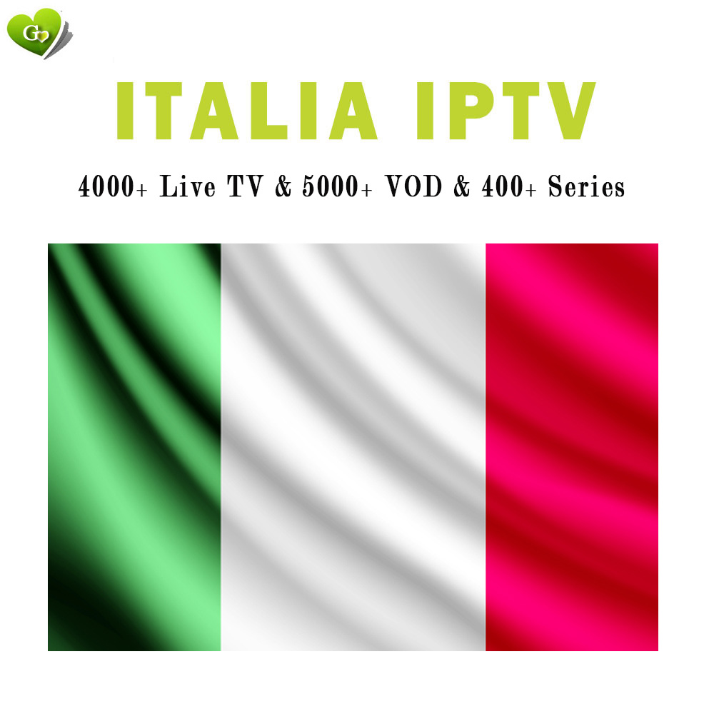 italy iptv subscription italia IPTV abbonamento 4000+ live vod tv channels list for m3u code smart tv enigma2 mag android tv box(China)