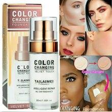 TLM-Base correctora que cambia de Color, maquillaje profesional, maquillaje