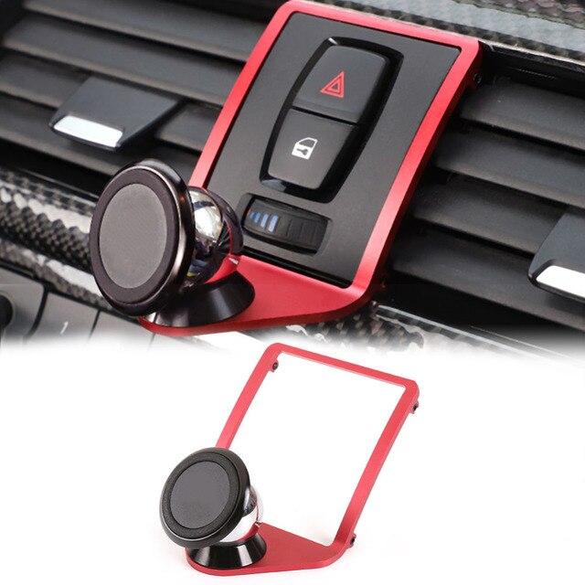 3 Color Car Air Vent Mobile Phone Holder Trim for BMW 3 4 Series F30 F31 F34 F32 F33 F36 Mobile Phone Holder Trim Car Accessorie