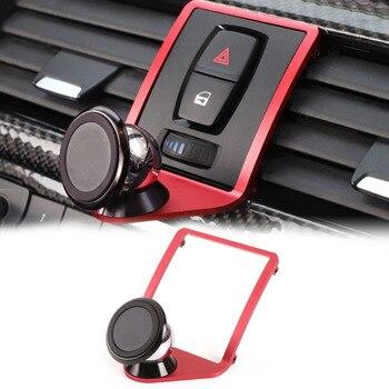 3 색 자동차 공기 환기 휴대 전화 홀더 트림 bmw 3 4 시리즈 f30 f31 f34 f32 f33 f36 휴대 전화 홀더 트림 자동차 accessorie