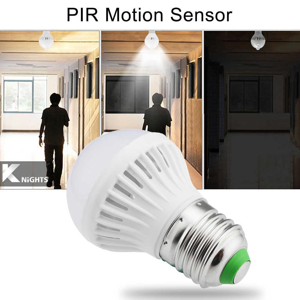 E27 Bertepuk Tangan dan Mengubah Bohlam Lampu Lampu AC 220V Sensor Gerak Lampu