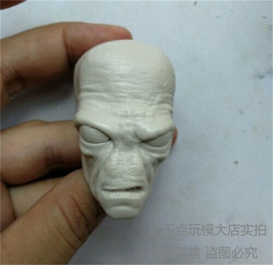 STAR WARS-Storm Trooper 1/6 Unpainted Head Carving Cad Bane Male Head Sculpt F 12'' Action Figure Body Doll