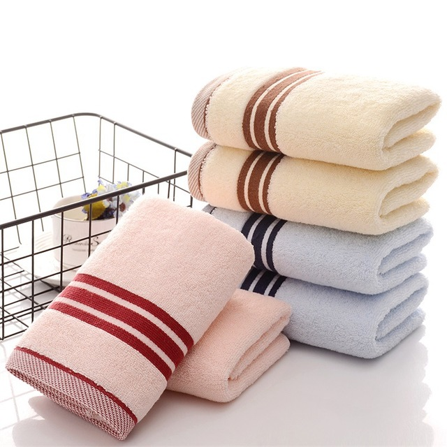 Cotton Towel 34*76cm 120g Adult Soft Strong Bibulous Big Men And Women Wash Household